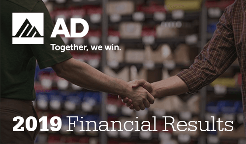 Together, AD members' sales up 12% to $46.3 billion in 2019