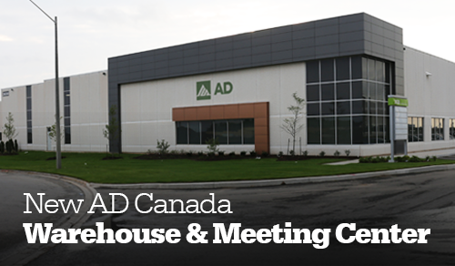 AD's new Canada warehouse and meeting center opens to all Canadian members