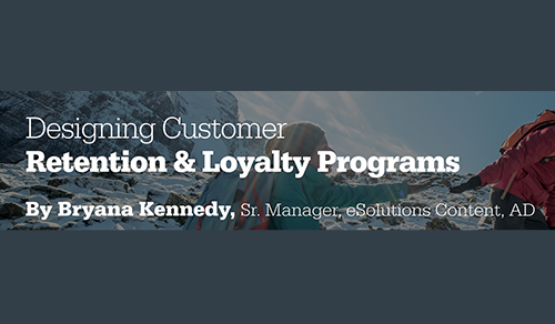 Designing Customer Retention & Loyalty Programs
