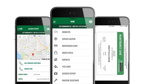 Enterprise Fleet Management Mobile App