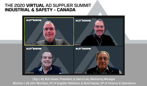 AD Industrial & Safety-Canada members and suppliers strengthen relationships during 2020 Virtual AD Supplier Summit
