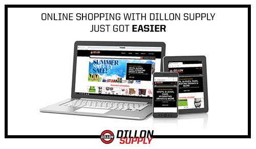 Dillon Supply Announces Launch of New Website