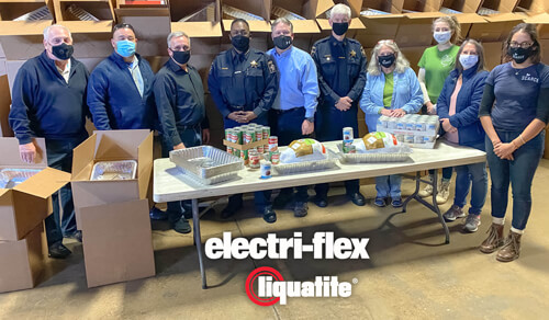 Electri-Flex Teams with Community for 1,000 Thanksgiving Meal Donations