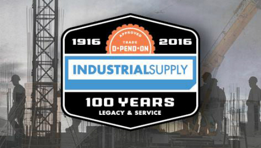 Ad news industrial supply company celebrates 100 year for Industrial distribution group