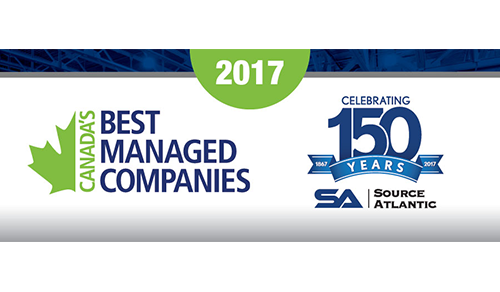 Source Atlantic Limited recognized as one of Canada's Best Managed Companies