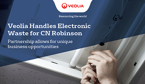 Veolia Handles Electronic Waste for CN Robinson